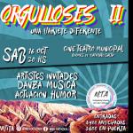 La organización MTA invita a la segunda edición del show teatral Orgulloses este sábado