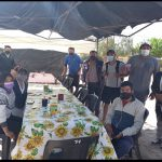 Vecinos de Cafayate recibieron a los peregrinos de Molinos