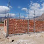 La obra de las 40 viviendas del Socorro II están al 20 por ciento de su construcción