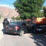Este fin de semana se registraron 2 accidentes viales y un inicio de incendio en Cafayate