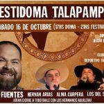 El 16 de octubre se realizará el primer festival de Doma y Folklore en Talapampa