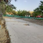 La obra de la plaza 20 de febrero está ejecutada en un 50 por ciento