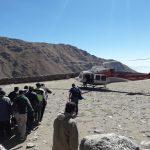 Una comisión de rescate asistió a un joven de 24 años que cayó por un barranco en el paraje El Corral